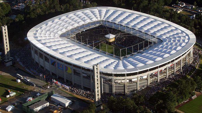Commerzbank-Arena – Eintracht Frankfurt Capacity: 51.500