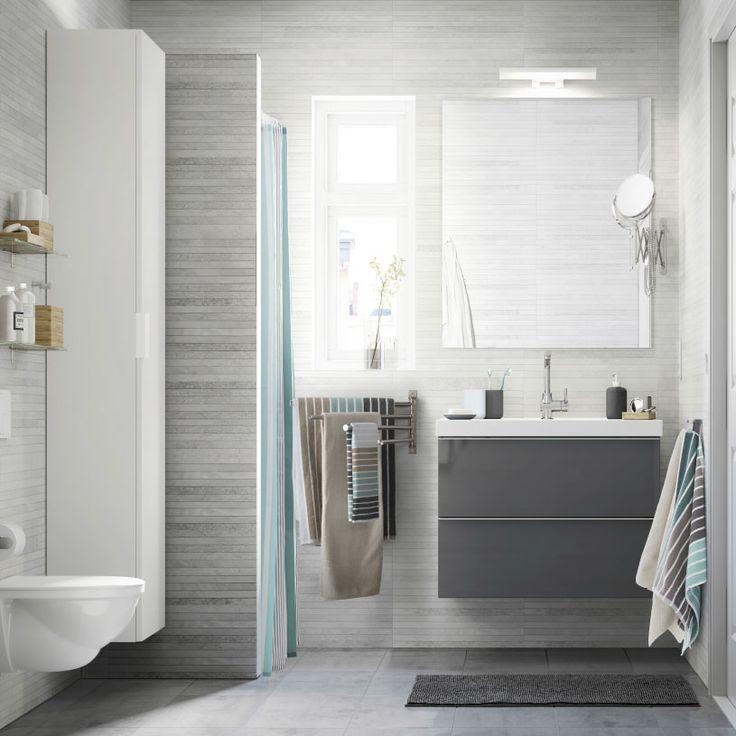 Las 25+ mejores ideas sobre Baños de color gris claro en ...