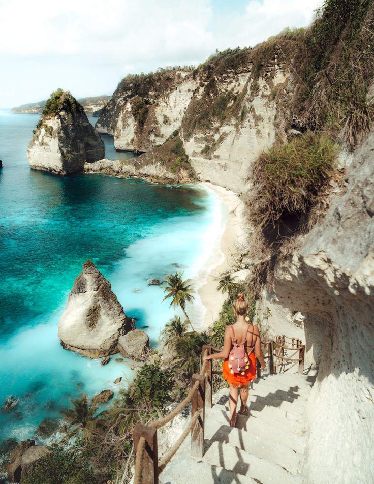 DIAMOND BEACH – Most Beautiful Beach on Nusa Penida in Bali