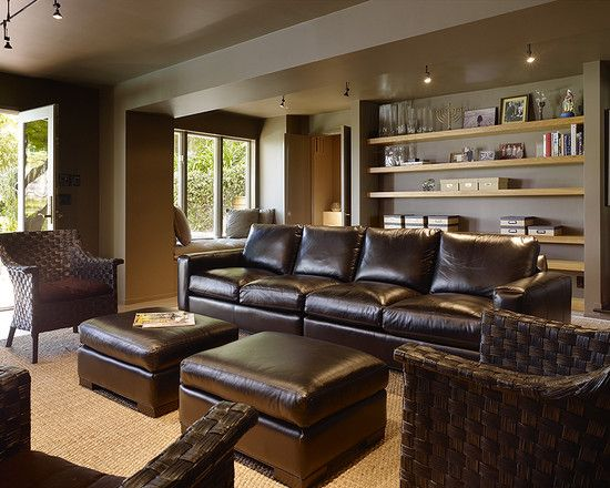 Best 25+ Brown leather couches ideas on Pinterest | Living room ...
