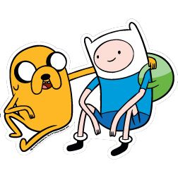 Adventure Time Finn and Jake Car Magnet - PopCultureSpot.com | Bobble Heads & Kitsch Shop