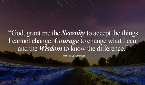 """Serenity Prayer project rises from the ashes"" by Pam Lundell"