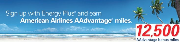 12,500 AAdvantage miles for changing energy providers - http://www.pointswithacrew.com/12500-aadvantage-miles-for-changing-energy-providers/