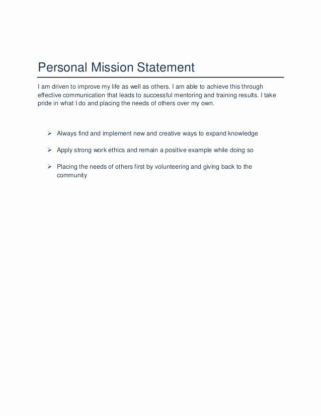 Professional Mission Statement Beautiful Joi Hatcher S Career Portfolio Personal For Examples