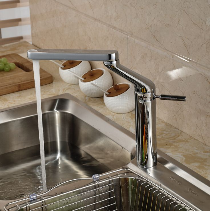 307 best Faucets images on Pinterest | Bathroom basin taps, Bathroom ...