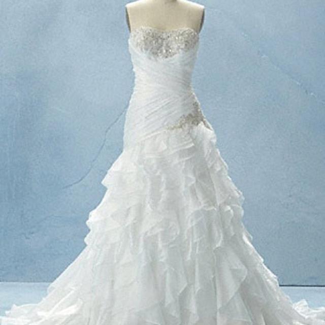 Disney Wedding Dress Inspired By Jasmine