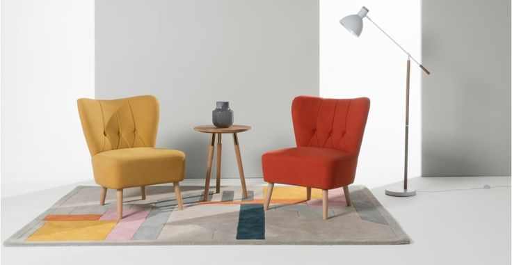 179€ Charley, fauteuil d'appoint, jaune d'or | made.com