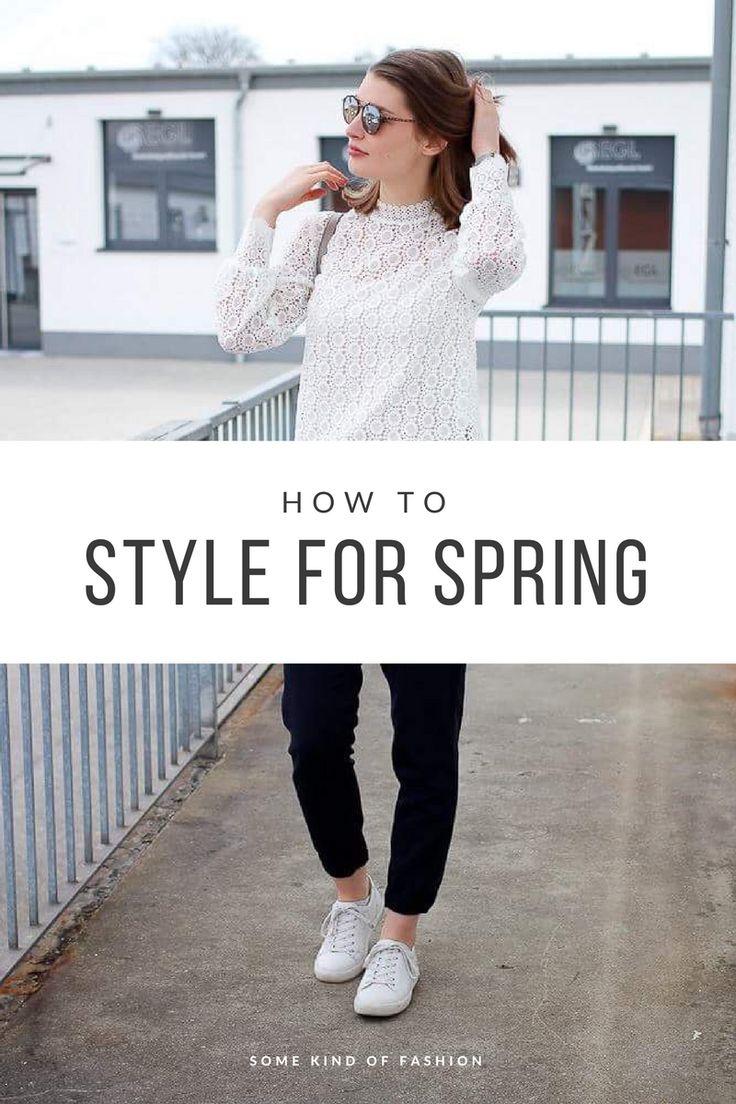 How to style for Spring Spitzenbluse im Alltag kombinieren muss nicht schwer sein!