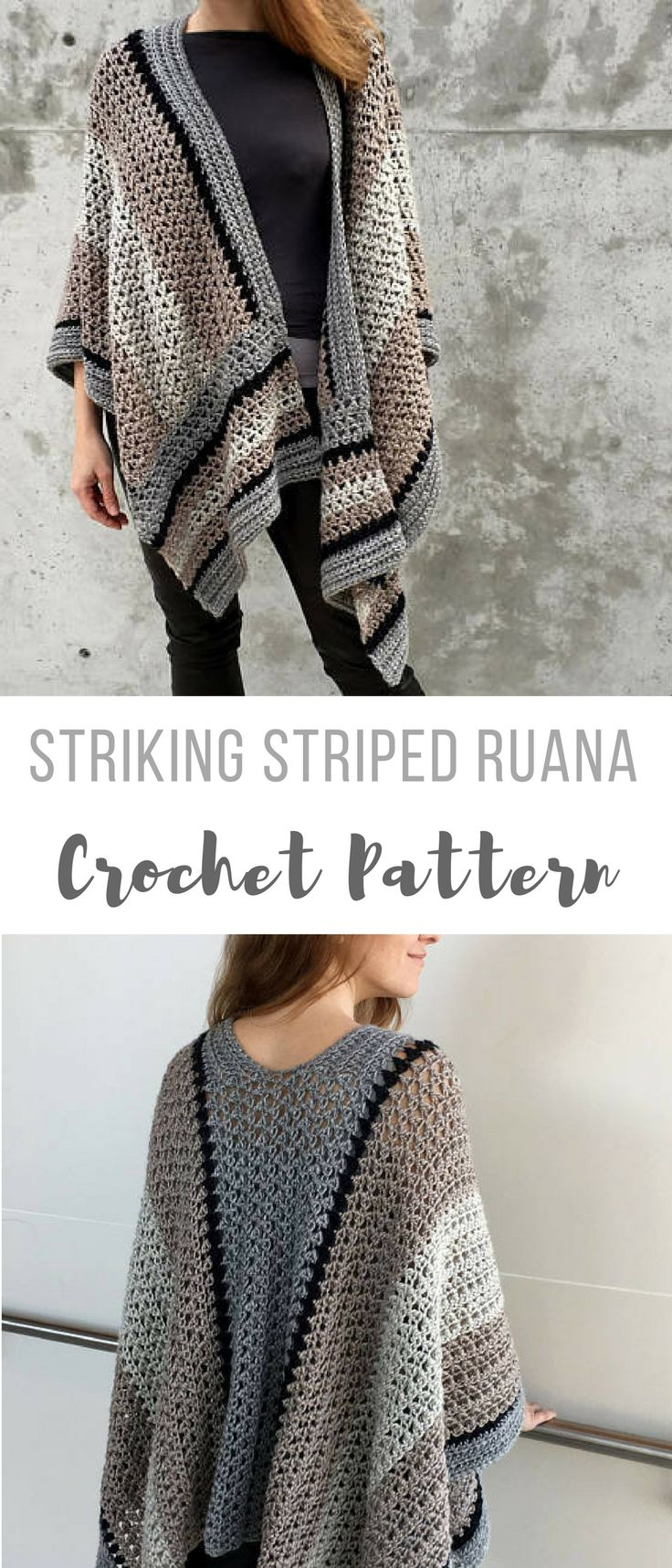 954 best Schals und Tücher images on Pinterest | Knitting stitches ...