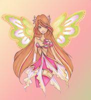 Flora: Metallix transformation by Nina-D-Lux