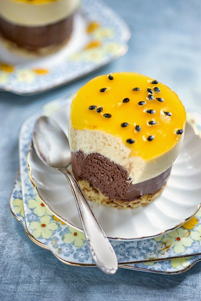 Chocolate and Passionfruit Entremet | Supergolden Bakes