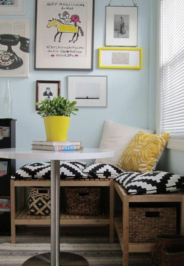 Kleines Wohnzimmer Mit Essbereich Einrichten Tipps Der Freshideen Redaktion Kleine Kuchen Ideen Kleine Essecke Kleine Kuche