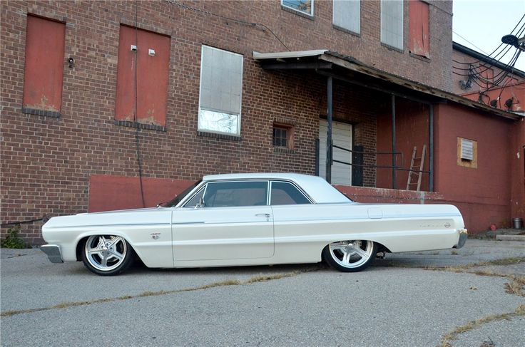 For sale at auction: This 1964 Chevrolet is a complete high-end pro-build that has never been showed. It has only test miles on the car. This 1964 Impala has laser straight body ...