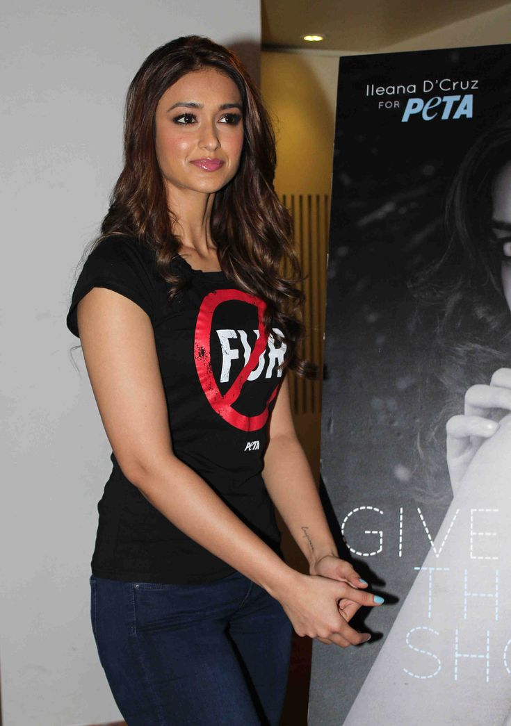 Ileana D'Cruz FOR 'PeTA'