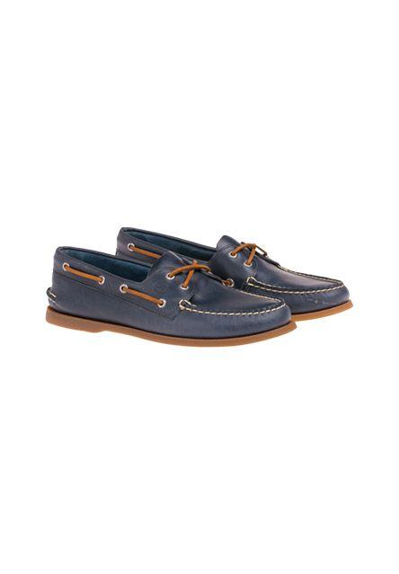 In edlem Leder und klassischem Schnitt überzeugen diese Schuhe von Sperry. Kombiniert mit Chino und Casual-Hemd sind sie ein idealer Begleiter für elegante Freizeit-Looks!-blau von SPERRY bei OUTLETCITY.COM bestellen.