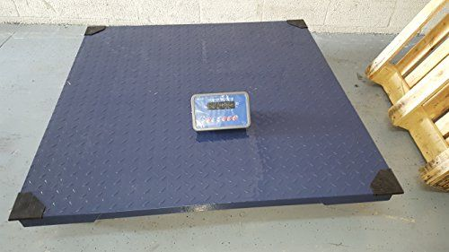 Prime Scales 10000x1lb Floor Scale | Pallet Scale with SFL Indicator (48″x48″)