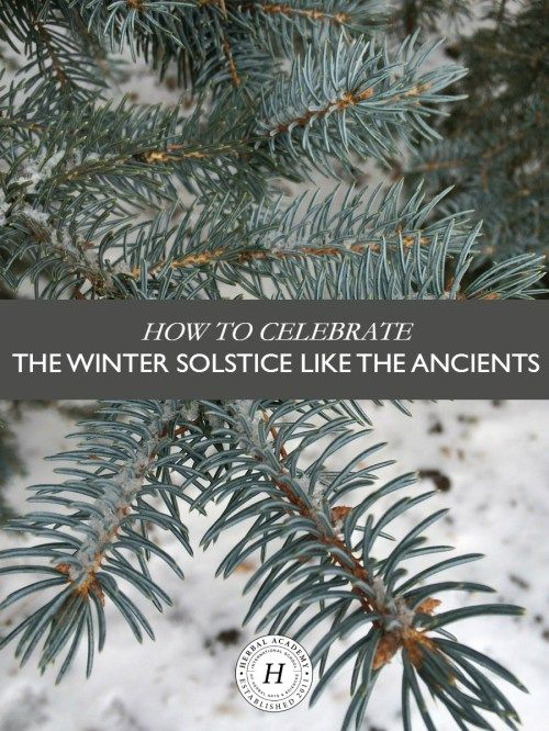 How To Celebrate The Winter Solstice Like The Ancients ––– The winter solstice is an astronomical event that has been celebrated since ancient times. We have several great ideas to help you celebrate!