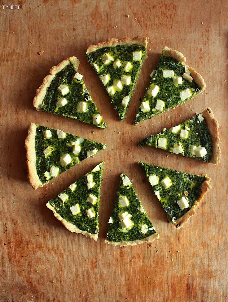 Taste Your Life - blog kulinarny : Tarta szpinakowa.