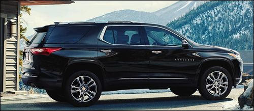 2018 Chevrolet Traverse High Country Road    Primary Car