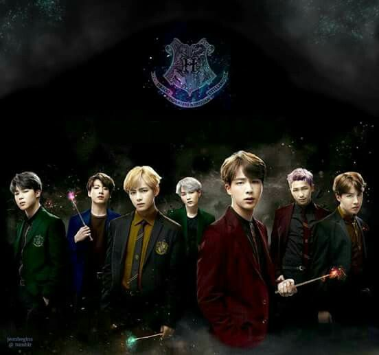 Jin is a fucking Gryffindor!!!! We're in the same house OMFG!!!!