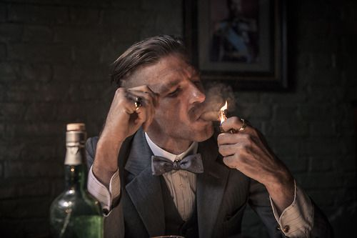 Arthur Shelby from Peaky Blinders