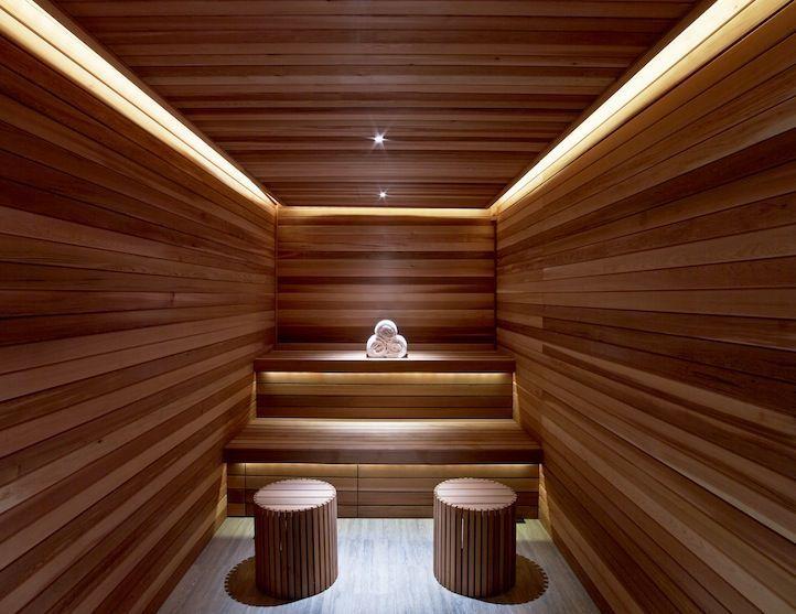 Image result for contemporary sauna