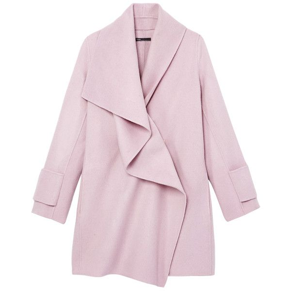 Best 25  Pink wool coat ideas on Pinterest | Wool coat, Pink coats ...