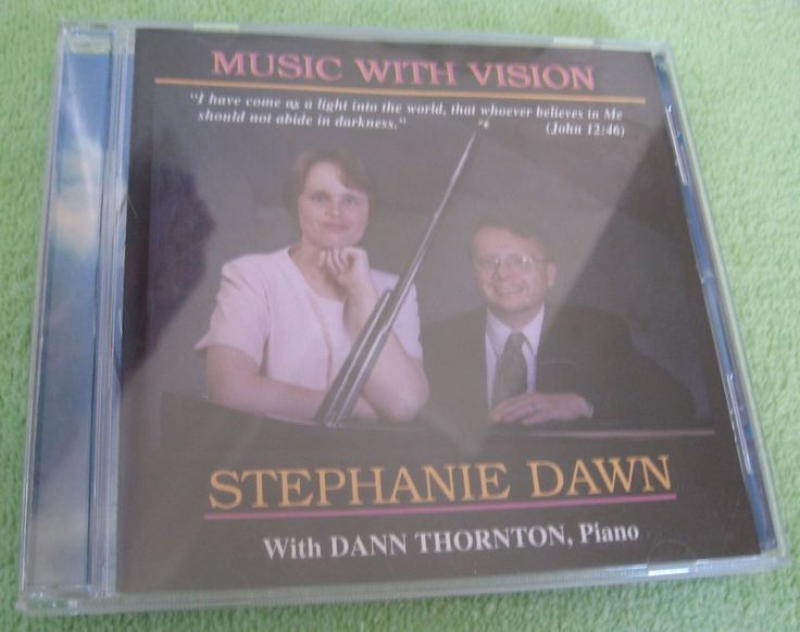 Music With Vision Stephanie Dawn CD #Gospel