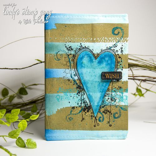 Canvas Journal Cover with Magicals   Lindy's Stamp Gang