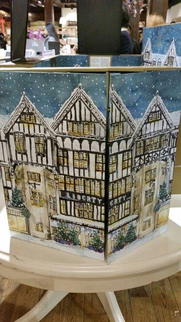Advent calendar from Liberty London