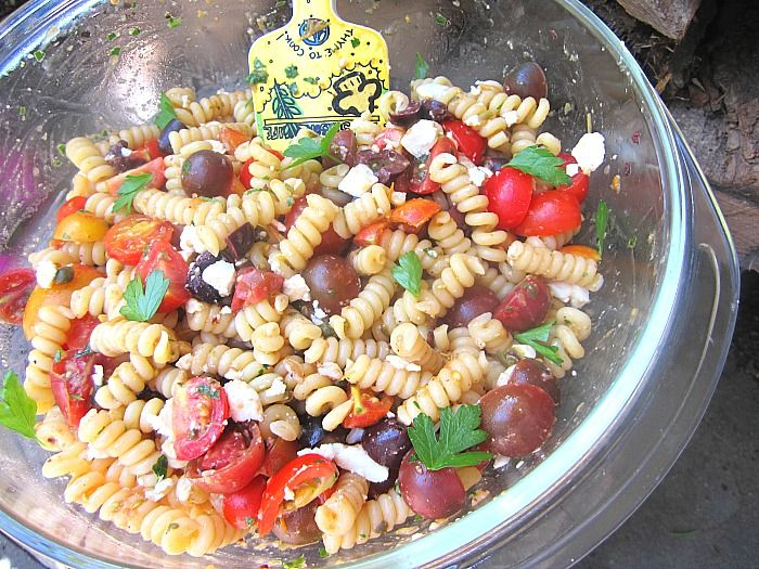 Leave it to Ina Garten to make a simple summer pasta salad so delicious. I was looking for a pasta salad to bring to a party, using all ...