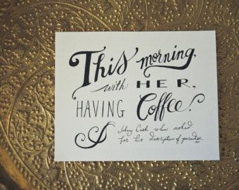 Coffee And Tea Love Quote   Google Search