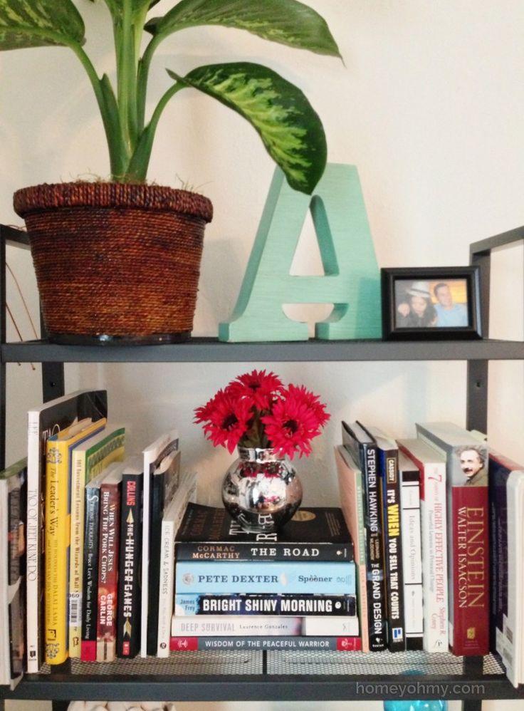 Bookshelf-styling