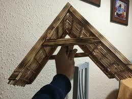 Resultado de imagen para como hacer un pesebres de madera
