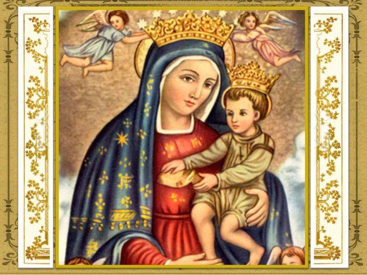 OhamadísimaSeñora Santa María de las Gracias, Virgen pura e Inmaculada celeste tesorera de todas las gracias, Madre deJesucris...