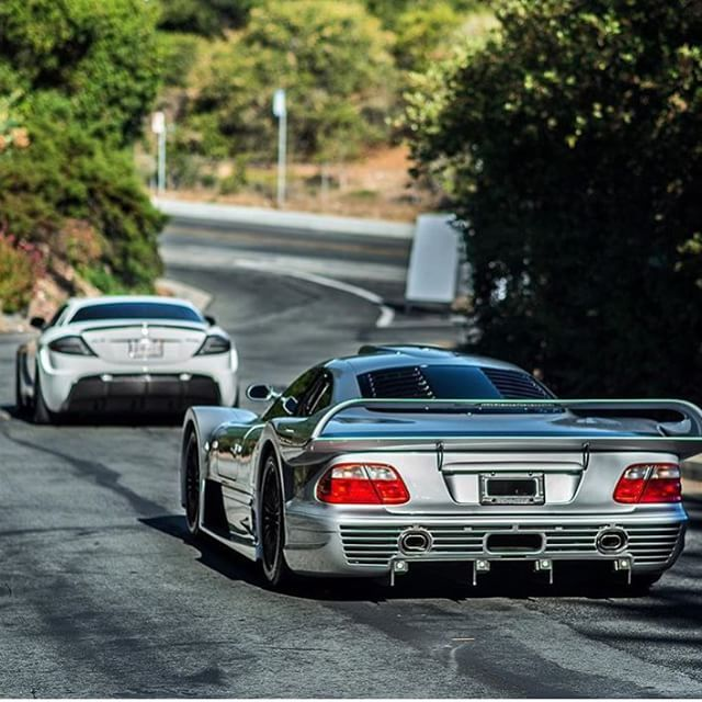 Mansory SLR & Mercedes CLK GTR