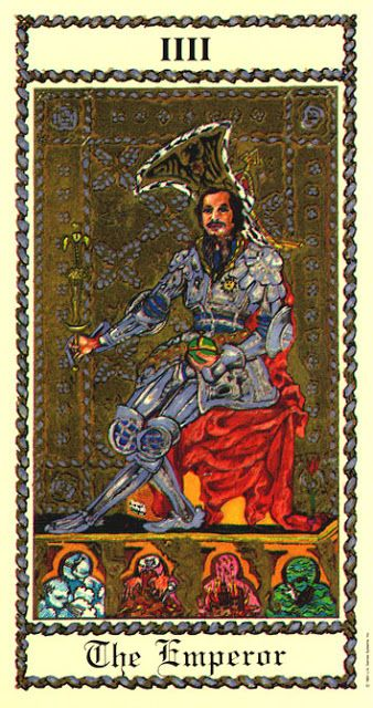 Medieval Tarot Digital Printable Collage Sheet Vintage: 33 Best Images About Tarocchi-4-l'Imperatore On Pinterest