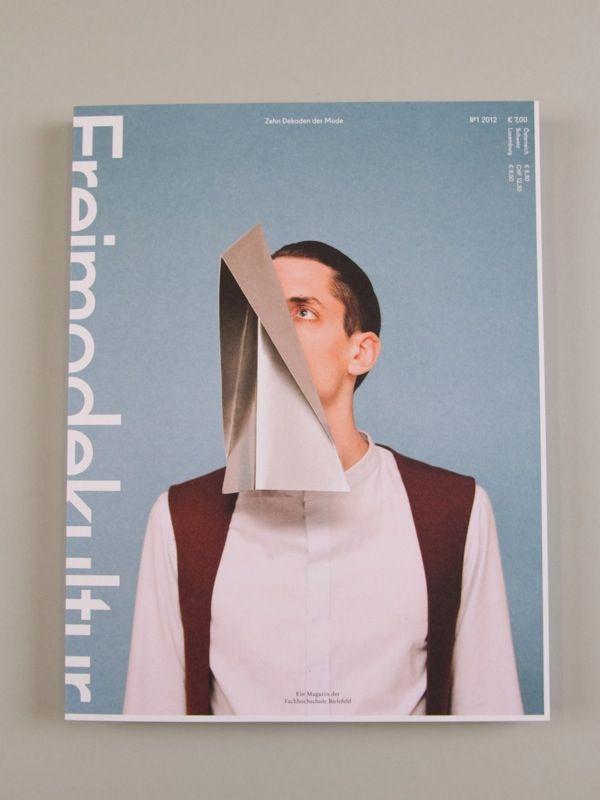 Zehn Dekaden der Mode - Ein Magazin der Fachhochschule Bielefeld   #graphic #cover #mag