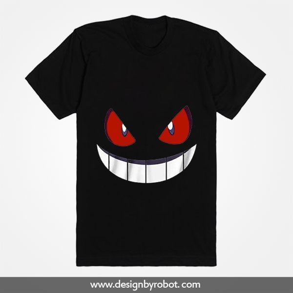 Pokemon Gengar T Shirt Free Shipping