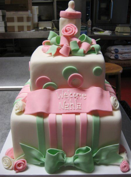 Baby Shower Cakes In Chicago ~ Model baby shower custom cakes gallery