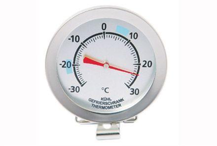 Analog frys/kylskåpstermometer Mingles kvalitetstermometer ger dig svaret! Mäter från -30 till 30 grader C Diameter 7 cm Kan hängas eller stå fristående Rek. butikspris: 195.00 SEK