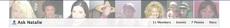 Facebook Changes - New member images at the top of groups.  Now you can see who is in each group!