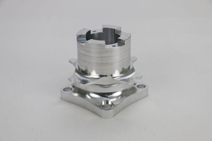 #5DaysPrototypeMachining 0025 Dimension:φ120 x 90.5 #Aluminum