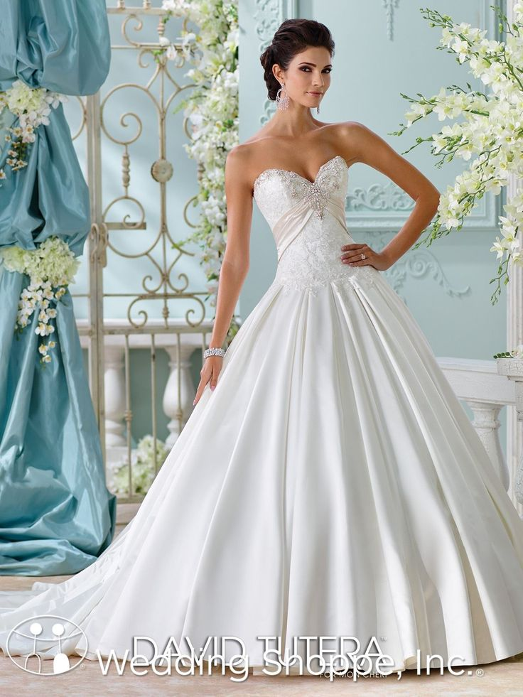 David Tutera for Mon Cheri Bridal Gown Heloise / 116200