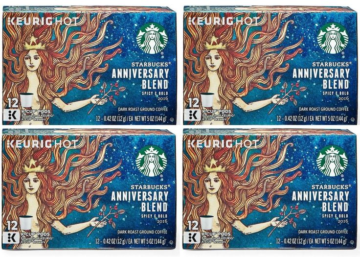 Starbucks Anniversary Blend Keurig K-cups 48 Ct >> See this awesome image  : K Cups