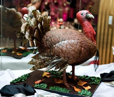 holy cow look at this turkey cake! // via cakewrecks.com