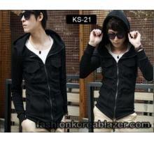 Hooded Jacket Korean Style IDR : Rp 270.000 Kode Produk : KS-21