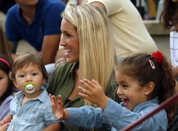 Sofía Balbi, la mujer del futbolista Luis Suárez, su más fiel apoyo en el campo de juego - Foto 2