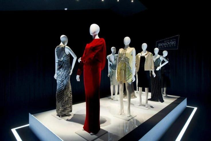 Beautiful dresses using Swarovski Elements