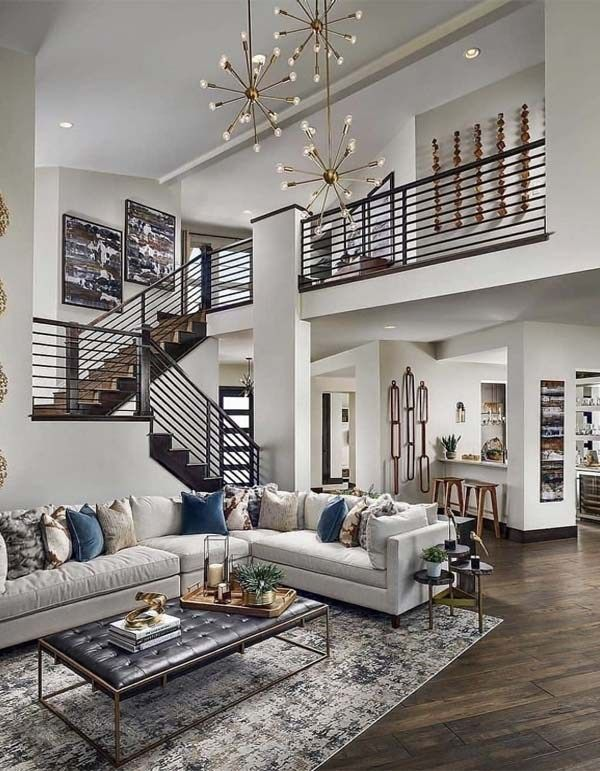 Modern Home Decor Trends To Copy In Year 2019 Stylesmod Contemporary Decor Living Room Luxury House Designs Modern House Design